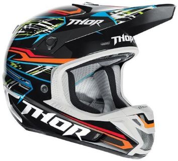 Purchase Thor Verge Boxed Helmet Black Small NEW 2014 motorcycle in Elkhart, Indiana, US, for US $324.95