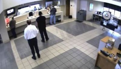 Bank Surveillance Camera
