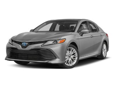 2018 Toyota Camry Hybrid XLE (White Pearl)