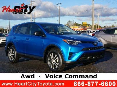 2018 Toyota RAV4 LE (electric)