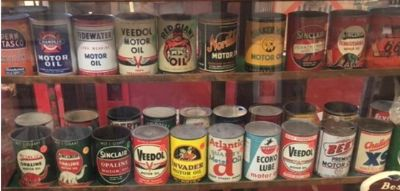 """oil can collection"" .... the better ones"