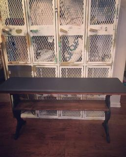 Wood Console/ Sofa/ Accent Table