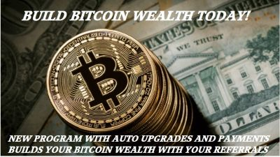 Earn Bitcoin with referrals, Automatic payments and up-grades