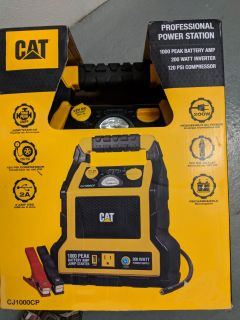 CAT Portable Power Station With Jump Starter & Air Compressor