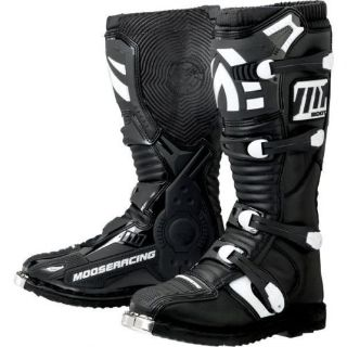 Purchase Moose Racing M1.2 MX Sole Offroad Boots Black motorcycle in Holland, Michigan, United States, for US $149.95