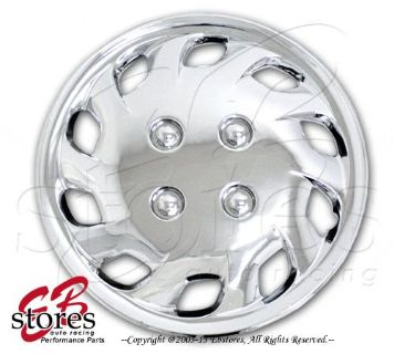 """Find One Set (4pcs) of 14 inch Chrome Wheel Skin Cover Hubcap Hub caps 14"""" Style#501 motorcycle in La Puente, California, United States"""