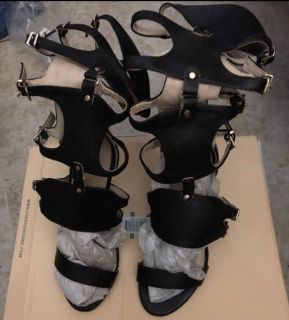 Wild Diva Gladiator heels , Size 7, Brand New!!!!