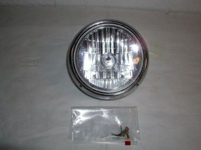 Sell Vulcan 1500 headlight 2001 Kawasaki Nomad FI Chrome in great shape No rust motorcycle in Menominee, Michigan, United States, for US $99.95