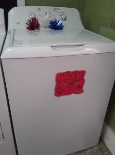 GE Washer w/ Super Capacity Drum