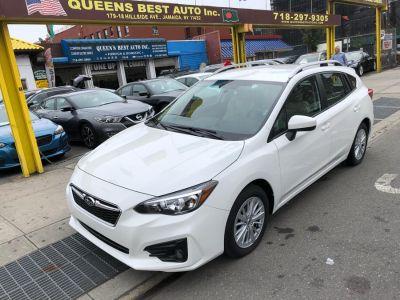 2018 Subaru Impreza 2.0i Premium 5-door CVT (Crystal White Pearl)