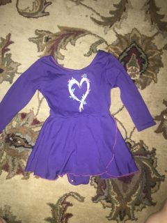 Dance leotard(great for fairy or princess costume!)