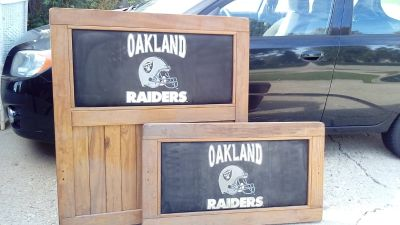 OAKLAND RAIDERS Twin Bed Frame