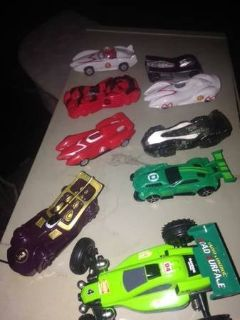 Toy Drag Racing Cars not sure if any are collectible