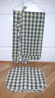 Hand Sewn Curtains w/Matching Placemats
