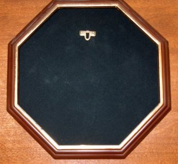 Octagon Collector Plate holder for wall