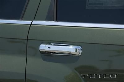 Sell Putco 402019 Door Handle Trim ABS Plastic Chrome Jeep Grand Cherokee Set of 4 motorcycle in Tallmadge, Ohio, US, for US $79.97