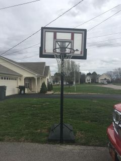 **Must Pick Up** Basketball Goal