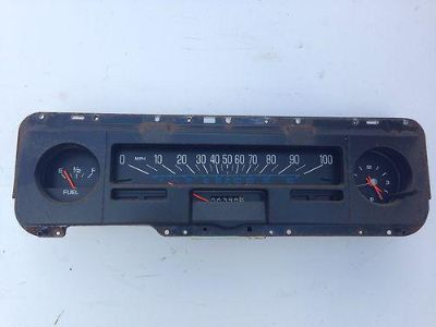 Buy 1975 Chevy Nova Speedo Cluster With Clock motorcycle in Island Lake, Illinois, US, for US $75.00
