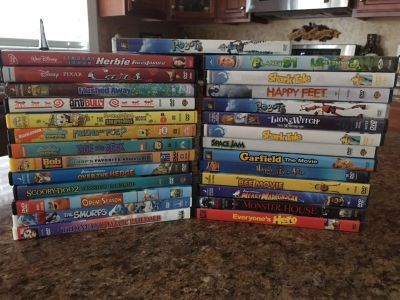 Assorted Kids Movies