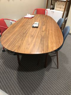Walnut Color Dinning Table
