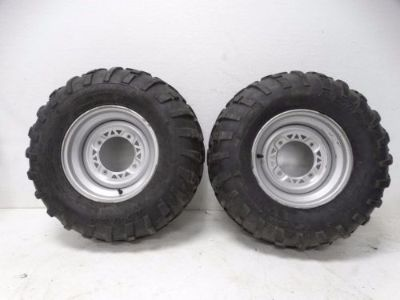 Sell 2009 Polaris Sportsman 800 EFI ATV Carlisle 25x11-12 AT489 Rear Rims & Tires motorcycle in West Springfield, Massachusetts, United States, for US $149.99