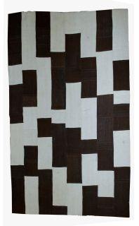 Handmade vintage Turkish Patchwork kilim, 1B532