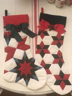 Quilted Christmas Stockings (2)