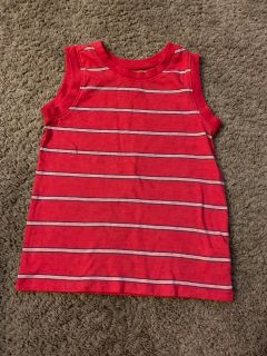 4T red tank top