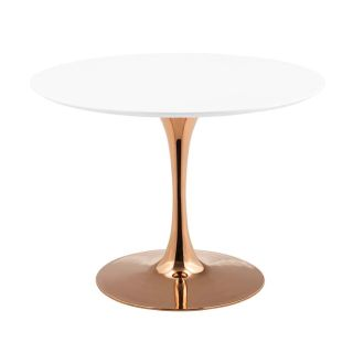 "New 40"" Dining Table Rose Gold Base Incld Shipping"