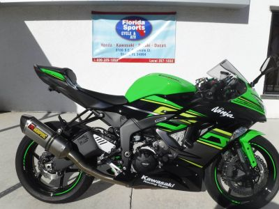2018 Kawasaki NINJA ZX-6R ABS SuperSport Motorcycles Stuart, FL
