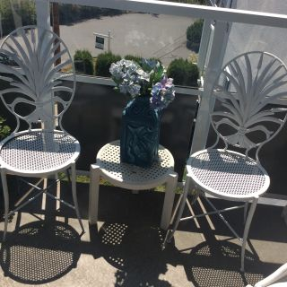 Metal chairs with nice design