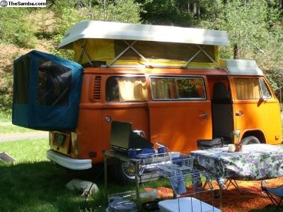VW Bus Rear Tents & Bed Platforms