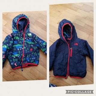18 to 24 month toddler reversible Northface coat