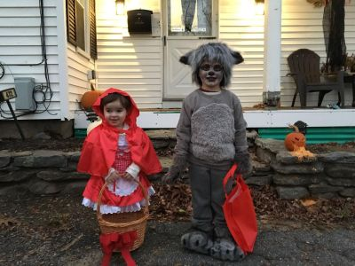 Little red riding hood costume 2T-3T