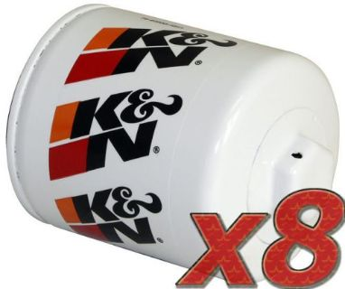 Purchase 8 Pack: Oil Filter K&N HP-1002 (8) for Auto/Truck Applications motorcycle in Lebec, California, United States, for US $87.99