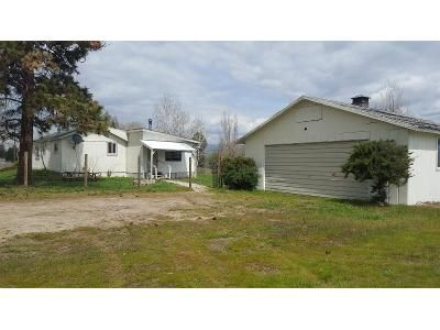 2 Bed 1 Bath Foreclosure Property in Florence, MT 59833 - W Carlton Creek Rd