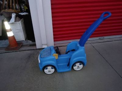 Stroller Push Car Ride-On Toy- Blue I will be in Fairifield on Saturday 6/16