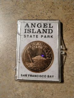 Collectable Angel Island Coin