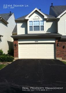 Spacious 2 Bed,  2.5 Bath Townhouse in Hoffman Estates