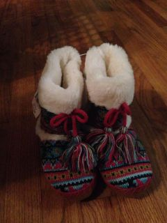 Boot slippers size 12/13 new