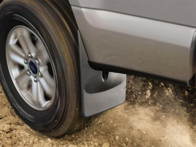 Mudflaps - WeatherTech #110010 No Drill, Laser Measured for a Perfect Fit. $50 for front and rear pair together.