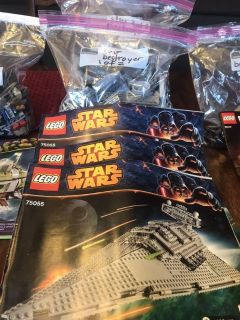 Legos with Building Manuals for SALE!