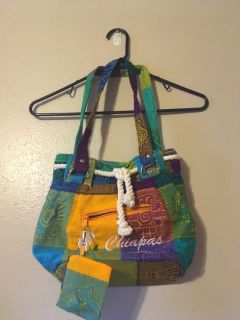 Brand new one of a kind purse handmade in Mexico