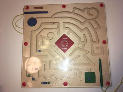 Magnetic Maze Game