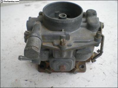 porsche 356 Zenith carburetor