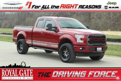 2017 Ford F-150 XL (Ruby Red Metallic Tinted Clearcoat)