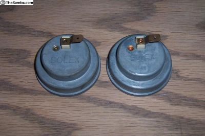 NOS Solex Choke Elements Left and Right