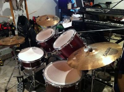 $595 Sonor Sonic Plus Drums