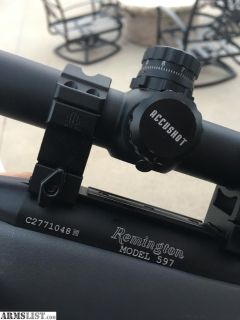 For Sale: Remington 597 .22lr Semi-Auto Rifle