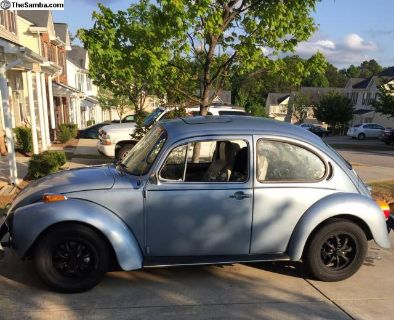 1974 Super Beetle, Sun roof, many upgrades